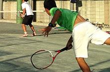 高校テニス部
